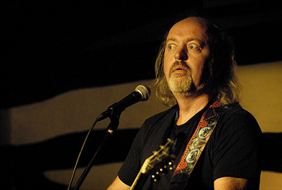 Bill Bailey at Outside The Box - photo by James Perou
